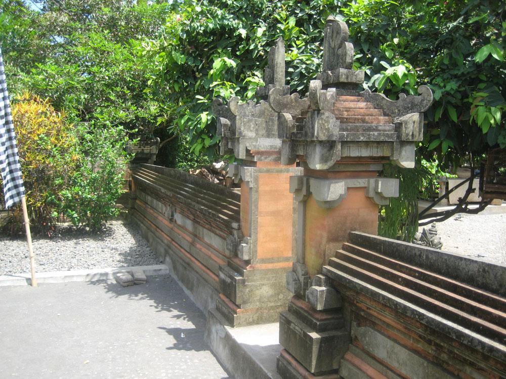 Templom kerítés