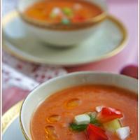 Andalúz gazpacho