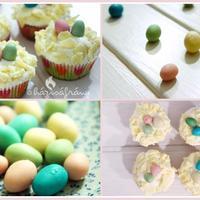 Húsvéti cupcake, mert ha igazi édességre vágysz, a kalács bizony nem elég!