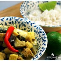 Thai zöld curry- a mindenkori kedvenc