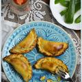 A spanyolok kedvenc vendégvárója, csirkés táskácskák, azaz empanadillas de pollo