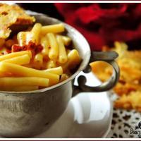 Macaroni & cheese, az amerikai gyerekek sajtos- tejfölös tésztája