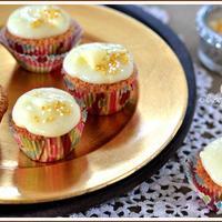 Mini cupcake financier krémsajt bevonattal-a desszert, amivel jóllakattam fél Budapestet...