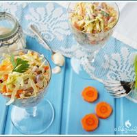 Coleslaw, az angolszász káposztasaláta, amit még a gyerekek is szívesen megesznek!