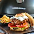 Fűszeres bárányburger újragondolt coleslaw salátával