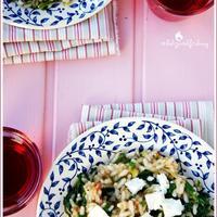 Spanakorizo, a görög zöldséges rizs és Éva lábainak története