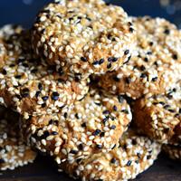 Tahinis-vajas kekszek, mert nem csak a humuszba való ám szezámpaszta!