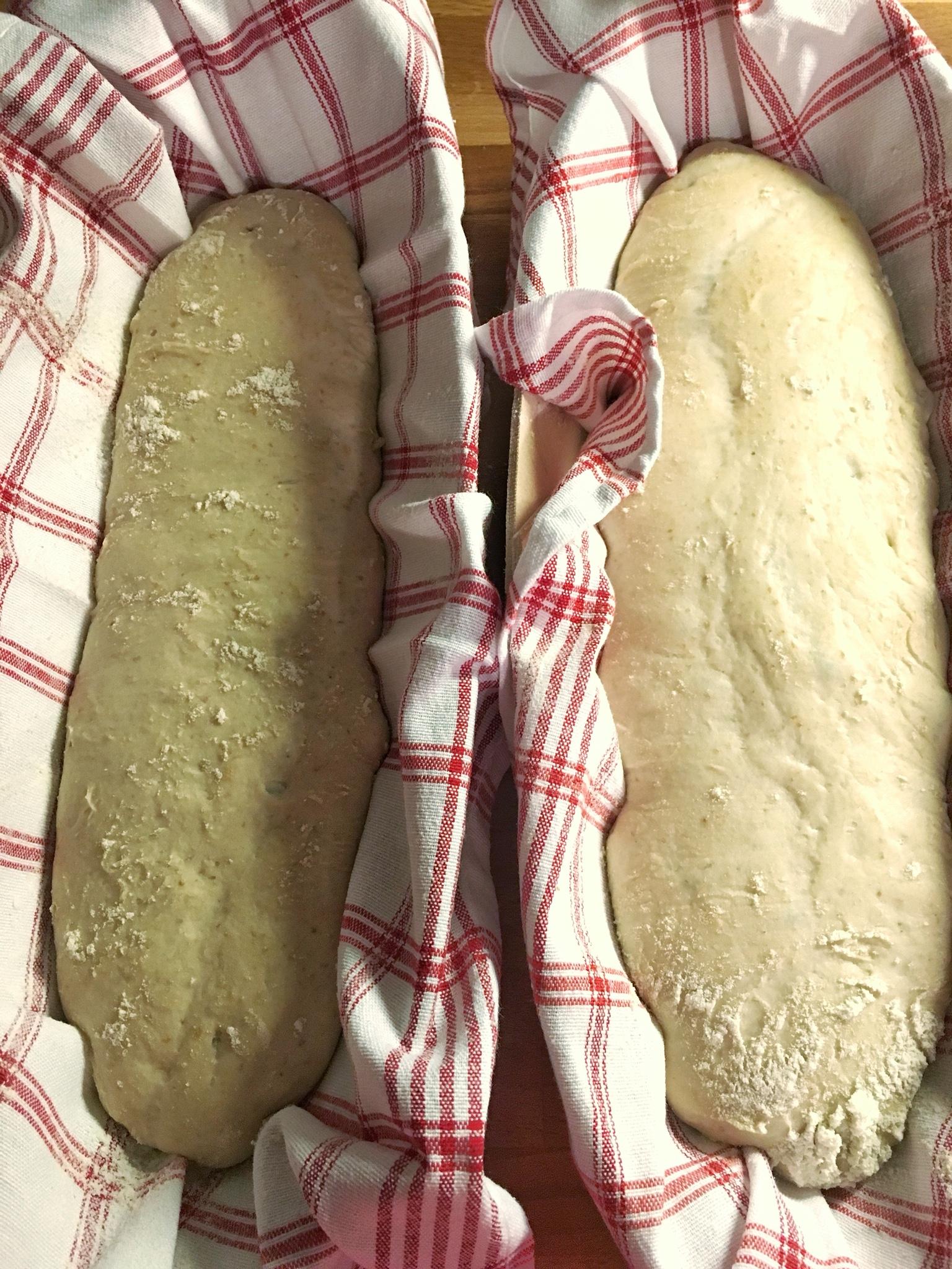 így néz ki a kenyér 16 óra hideg helyen kelesztés után
