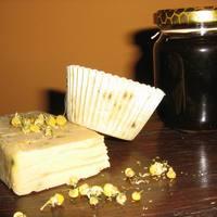 Kamillás-mézes kecsketej szappan