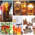 Otthon is könnyen elkészíthető őszi dekorációk