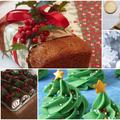 Karácsonyi köntösbe bújtatott desszertek
