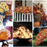 Vérbeli őszi erkély dekorációk, nemcsak halloweenre!