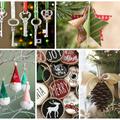 Kézzel készült karácsonyfa dísz ötletek