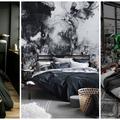 Káprázatos fekete hálószobák