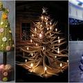 67 kreatív karácsonyfa, amihez nem kell fenyő