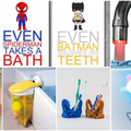 Klassz fürdőszoba kiegészítők gyerekekre szabva