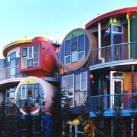 Hihetetlen társasházak a nagyvilágból: Reversible Destiny Lofts