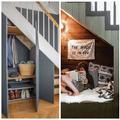 Lépcső alatti helykihasználás avagy új szoba keletkezik
