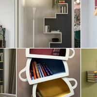12 kreatív könyvespolc, ami bármelyik otthont képes feldobni!