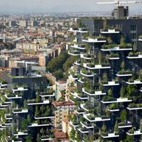 Hihetetlen társasházak: Zöldellő toronyház