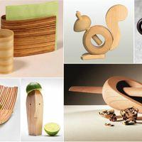 Fából készült konyhai eszközök a stílusos konyháért!