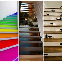 Egyenes út az egyedi lépcsődekoráció felé