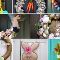 32 könnyen elkészíthető húsvéti ajtódísz, amit minden vendég imádni fog