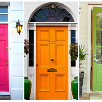 54 bejárati ajtó szín, amit látnod kell!