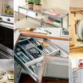 Kis konyhák praktikus helykihasználásai