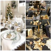 Mesebeli karácsonyi asztal dekoráció ötletek