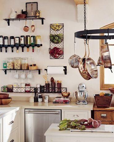fali tárolók kis konyhába