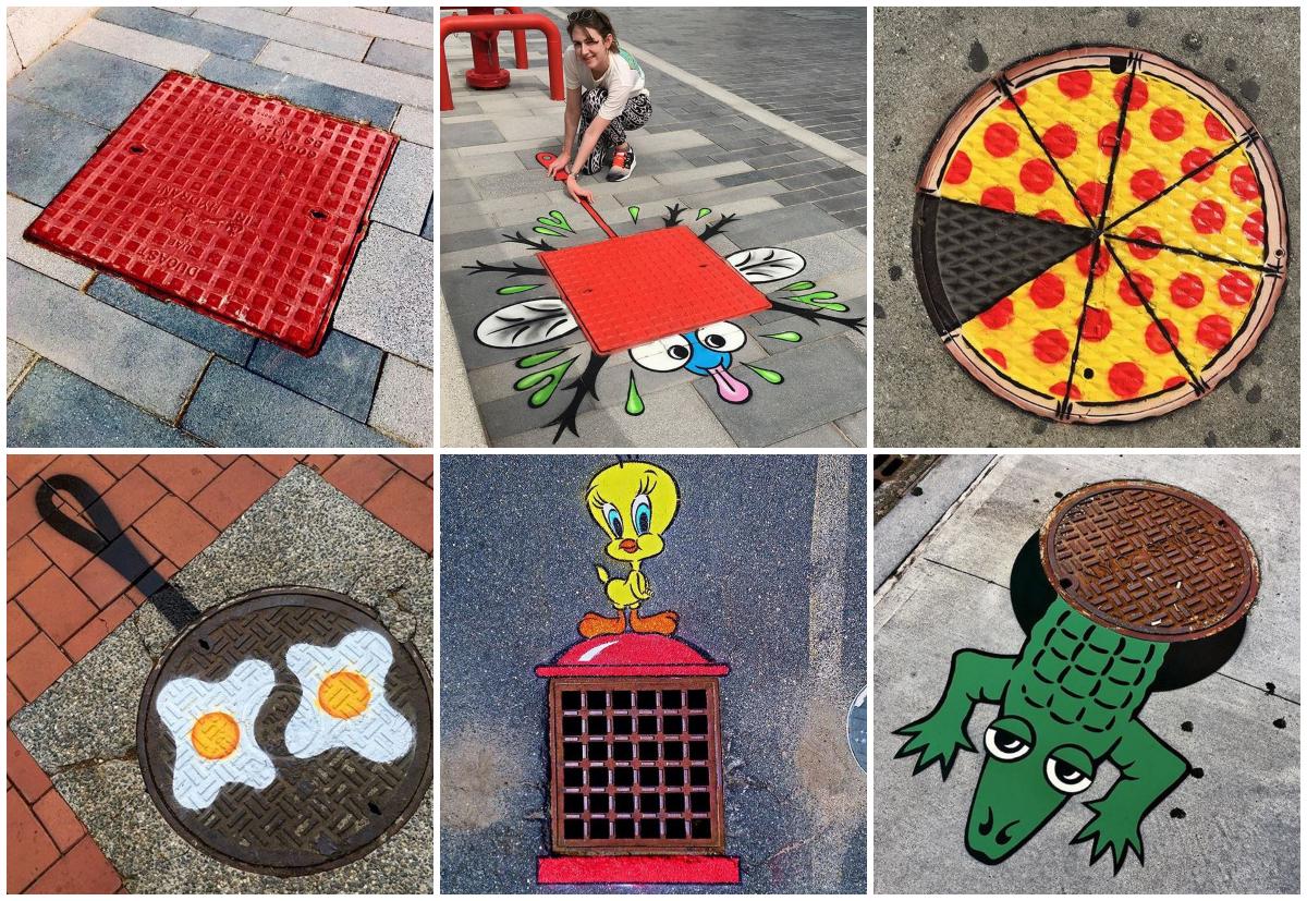 street_art_tom_bob_festomuvesz_utcai_kreativ_alkotas_vicces_csatornafedel_ereszcsatorna.jpg