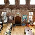 Durva brooklyni loft, lakóautóstul