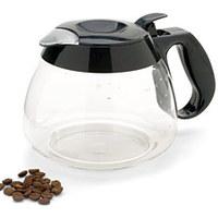 A kávéfőző kiöntőkről, kannákról.