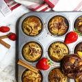Gyönyörű cukormentes muffin alaprecept gyümölcsökkel