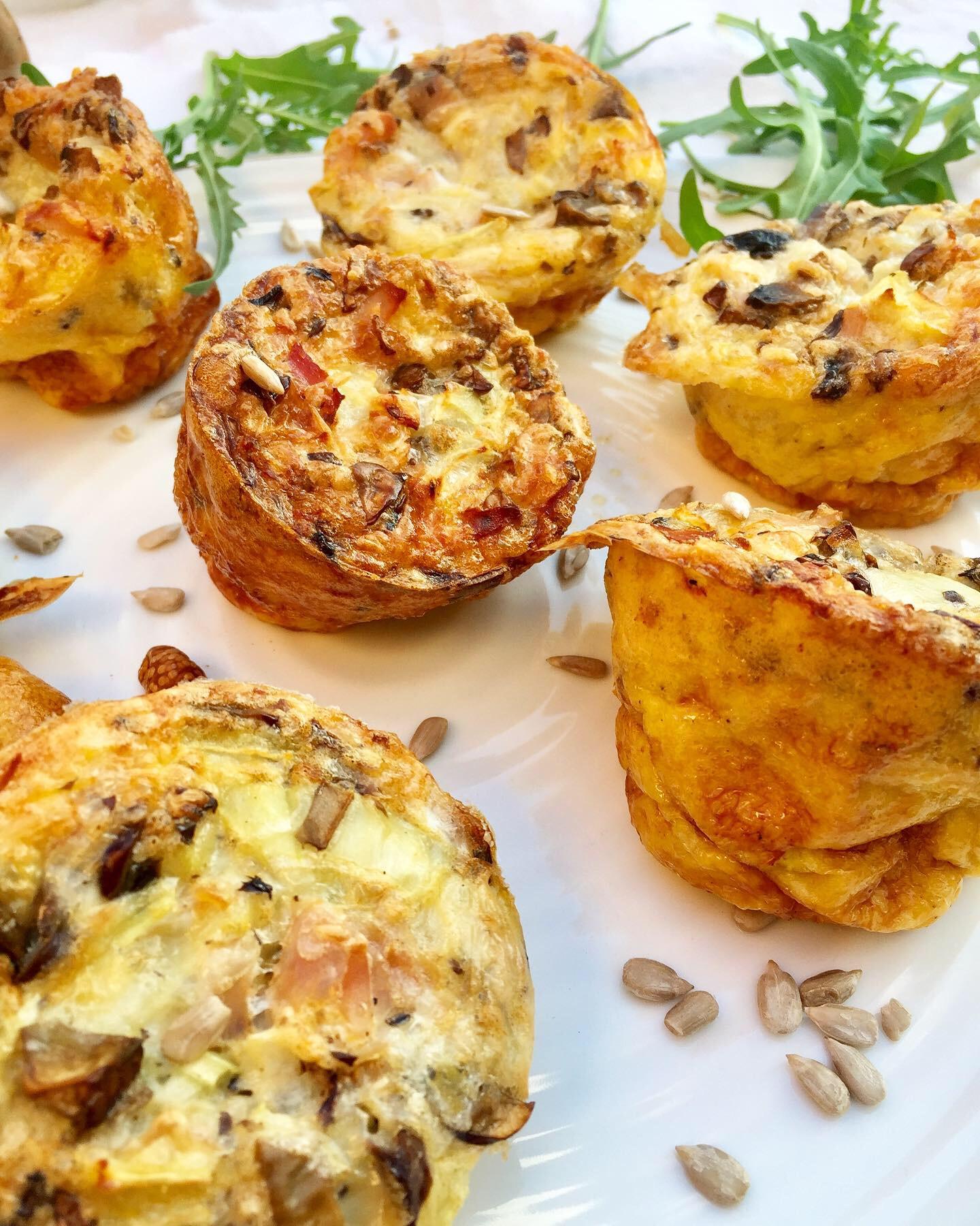 Extra gyors forradalmi tojásmuffin zöldségekkel,sajttal és sonkával