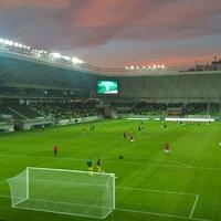 Meccs, ami nem is volt - tesztmérkőzés az új Haladás-stadionban