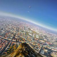 Madártávlatból: sasok készítettek 360 fokos videót Bécsről