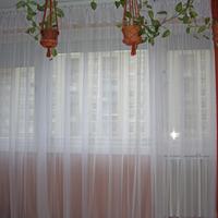 Hófehér függöny