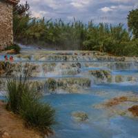 Szabadtéri fürdők Toszkánában
