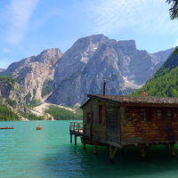 Csavargás a Dolomitokban - Túra Lago di Braies körül