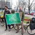 Dani és Ádám útnak indul Mongóliába kerékpárral