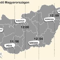 9 térkép Magyarországról, amit még tuti nem láttál