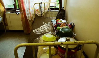 Be se jut a rendelőbe a hajléktalan ember
