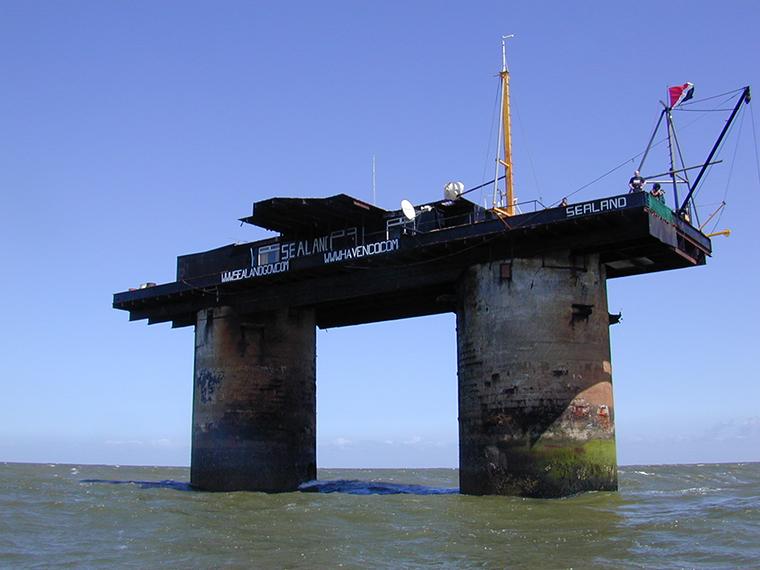 Sealand - Forrás: Wikipedia