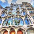 Gaudi sárkányháza a Passeig de Grácia közepén
