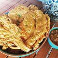 Mángold pakóra - avagy a gluténmentes indiai bundázott zöldség