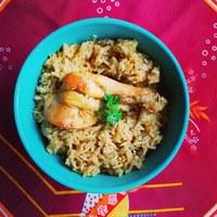 Biryani csirke - az indiai rizses hús