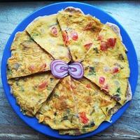 Brutál fűszeres tojásos lepény reggelire