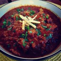 Lassan fővő bárány curry